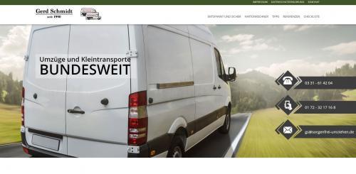 Firmenprofil von: Zuverlässiger Rentnerservice – Umzüge und Kleintransporte Schmidt in Potsdam