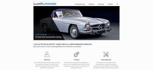 Firmenprofil von: Professionelle Reparatur an Lenkgetrieben: LuW Autoteile