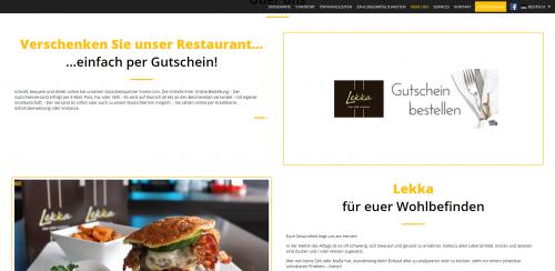 Firmenprofil von: Ihre zuckerfreie Konditorei in Essen an der Ruhr: Restaurant Lekka