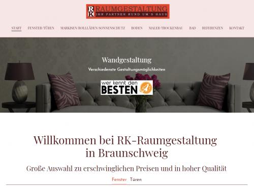 Firmenprofil von: Ihr professioneller Partner für Markisen in Braunschweig Südstadt – RK Raumgestaltung