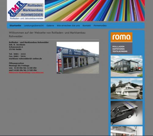 Firmenprofil von: Individuelle Rollladen und Markisen von RMR in Schleswig-Holstein