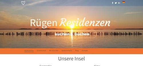 Firmenprofil von: Urlaubsunterkünfte an der Ostsee: Rügen Residenzen