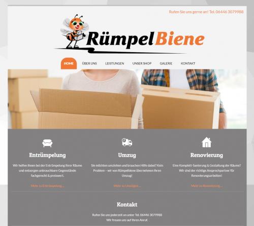 Firmenprofil von: Entrümpelung in Wetzlar: Professionalität mit RümpelBiene