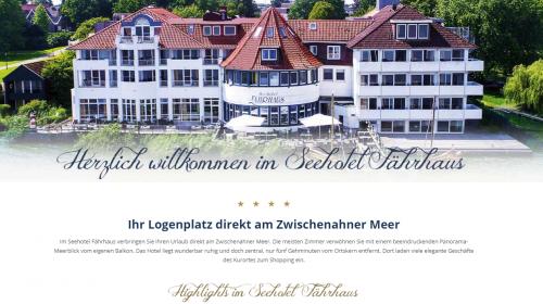 Firmenprofil von: Der Saalbetrieb am Meer von Bad Zwischenahn: Seehotel Fährhaus