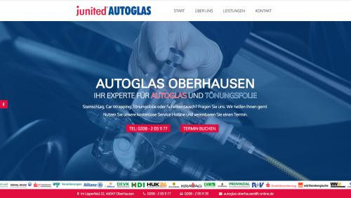 Firmenprofil von: Solide & schnelle Scheibenreparatur: junited Autoglas Oberhausen