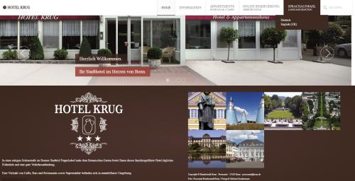 Firmenprofil von: Tolle Schlafmöglichkeiten in Bonn: Hotel Krug