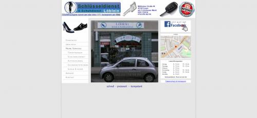 Firmenprofil von: Ihr Schuhservice in Essen: Schlüsseldienst Löblein
