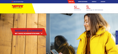 Firmenprofil von: Schlüsselnotdienst bei Braunschweig: Yavuz Sicherheitstechnik
