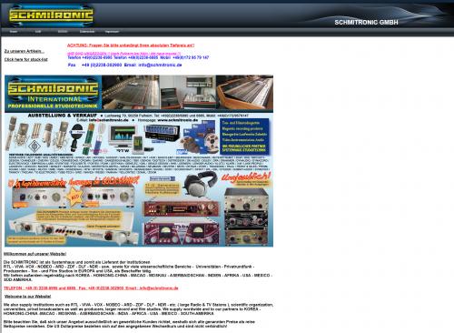 Firmenprofil von: Vintage Tontechnik bei Schmitronic in Pulheim
