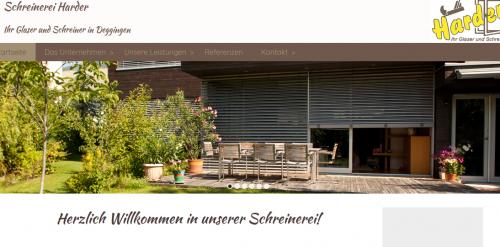 Firmenprofil von: Schreinerei Harder: Die Experten Fenster- und Türenbau bei Göppingen