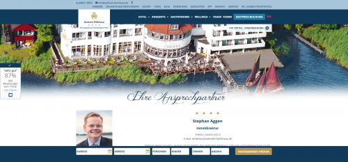 Firmenprofil von: Familienfeiern Bad Zwischenahn: unvergessliche Stunden im Seehotel Fährhaus