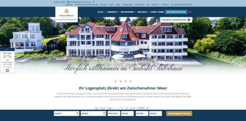 Firmenprofil von: Ein Seminarhotel für Unternehmen aus Münster: Das idyllisch gelegene Seehotel Fährhaus in Bad Zwischenahn