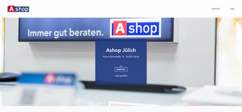 Firmenprofil von: Professionelle Handyreparatur in Jülich Ashop-Jülich