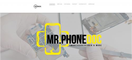 Firmenprofil von: Ihre Smartphonereparatur in München: Mr. PhoneDoc UG