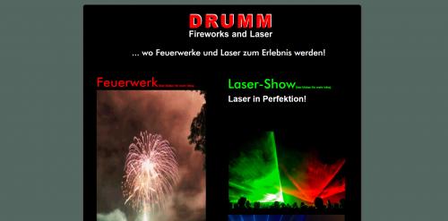 Firmenprofil von: Spektakuläre Lasershow in Wadgassen mit Drumm Fireworks & Laser