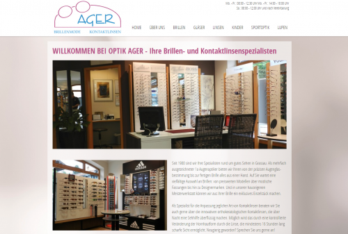 Firmenprofil von: Optiker am Chiemsee: Optik Ager