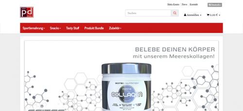 Firmenprofil von: Sportlernahrung im Onlineshop bestellen: Pillendealer.de