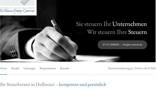 Firmenprofil von: Ihre Steuerberatung in Heilbronn – Dr. Czerner