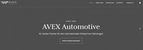 Firmenprofil von: Attraktiver Neuwagenkauf mit Tageszulassung – AVEX Automotive in Hamburg