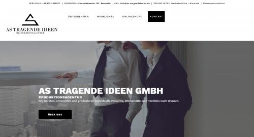 Firmenprofil von: Besondere Schulkleidung bedrucken: AS Tragende Ideen GmbH