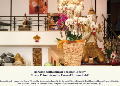 Firmenprofil von: Siam-Beauty in Essen-Rüttenscheid: Wellness und Thai-Massagen