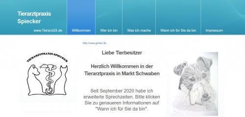 Firmenprofil von: Ihr einfühlsamer Tierarzt für Chinchillas bei München – Tierarzt Spiecker in Markt Schwaben