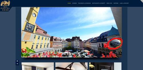 Firmenprofil von:  Preiswerte Übernachtung in Bautzen: Traditionshotel Goldener Adler