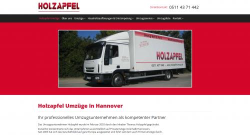 Firmenprofil von: Professionelle Umzugsfirma in Hannover: Holzapfel Umzüge