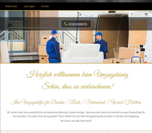 Firmenprofil von: Haushaltsauflösung in Wesel: Umzugskönig Zehm