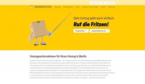 Firmenprofil von: Termingerechte Büroumzüge in Berlin – Die Umzugsfritzen