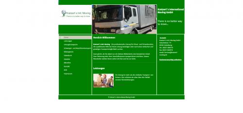 Firmenprofil von: Ihr Partner für Maschinentransporte: Kratzert`s Intl. Moving GmbH in Heidelberg