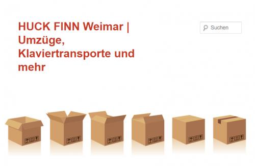 Firmenprofil von: Starker Umzugsservice aus Weimar – HUCK FINN GmbH