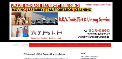 Firmenprofil von: Offenbachs Traditions-Umzugsdienst: R. K. V. Transport & Umzug Service