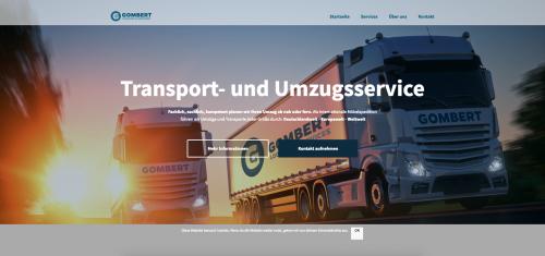 Firmenprofil von: Ihre Umzugsfirma für Fernumzüge: Gombert Logistik und Services GmbH