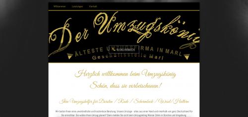 Firmenprofil von: Die Umzugsfirma im Raum Haltern: Umzugskönig Werner Zehm