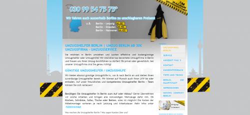 Firmenprofil von: Umzugshelfer Berlin: die richtige Wahl für Umzugstransporte