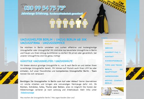Firmenprofil von: Ihre zuverlässigen Umzugsprofis in Berlin und Umgebung