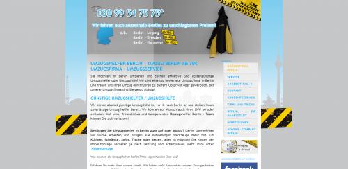 Firmenprofil von: Schneller Firmenumzug mit den Umzugshelfern Berlin