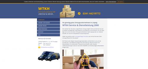 Firmenprofil von: Effiziente Umzugstransporte in Leipzig: WTKH Service & Dienstleistung 2000