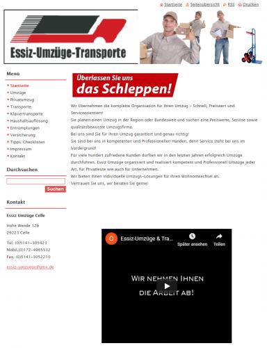 Firmenprofil von: Alles aus einer Hand: Umzugsunternehmen Essiz in Celle