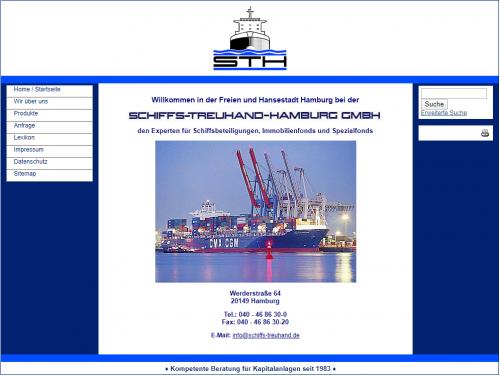 Firmenprofil von: STH Schiffs-Treuhand-Hamburg GmbH – Ihr Experte für Schiffsbeteiligungen, Immobilienfonds und mehr