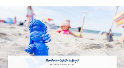 Firmenprofil von:  Strandnahe Ferienwohnung in Zingst: Urlaub an der Oststee mit HD. Feriendomizile GbR