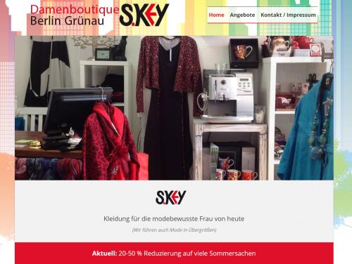 Firmenprofil von: Unternehmensnachfolge für die Boutique S.Key in Berlin