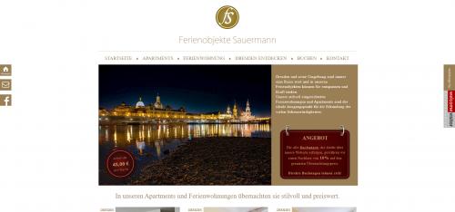 Firmenprofil von: Ihr Partner für Ferienwohnungen in der Leipziger Vorstadt: Ferienobjekte Sauermann