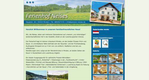 Firmenprofil von: Urlaub in der Südeifel - Gästehaus Neises in Minden