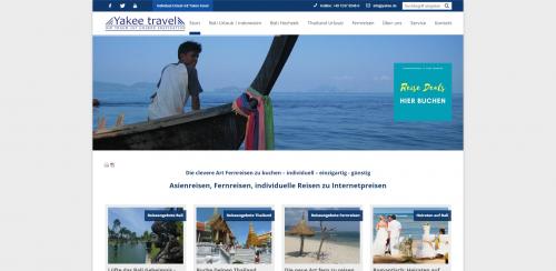 Firmenprofil von: Die besten Urlaubsangebote für Fernreisen: Yakee travel