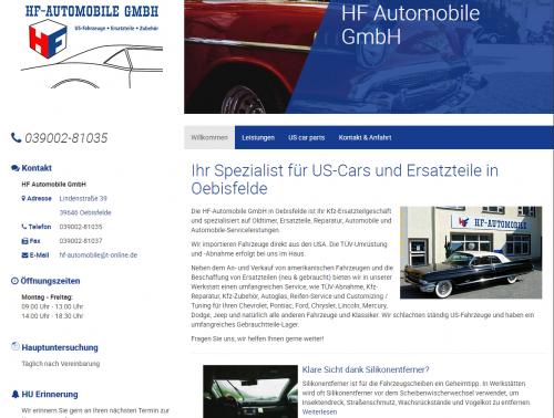 Firmenprofil von: HF-Automobile GmbH: Amerikanische Autoersatzteile vom Spezialisten