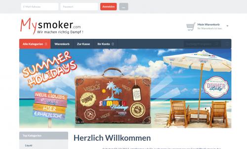 Firmenprofil von: Dampfen mit Genuss – Mysmoker in Grevenbroich bei Neuss