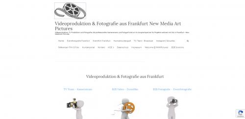 Firmenprofil von: Videograf in Frankfurt – New Media Art Pictures