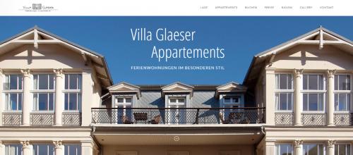 Firmenprofil von: Ihre Ferienunterkunft auf der Sonneninsel Usedom – Villa Glaeser